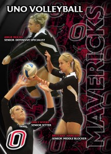Volleyball Schedule Card